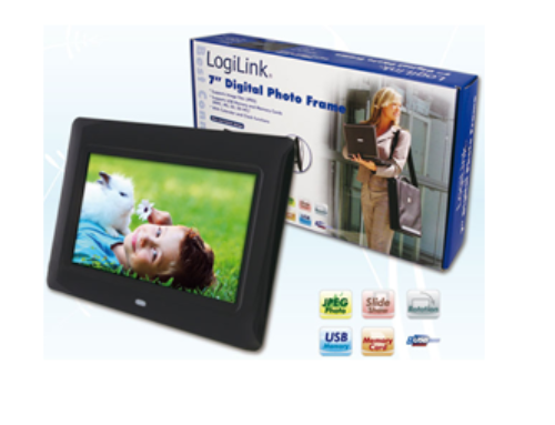 LogiLink® Digital 7″ LCD Photo Frame 16:10